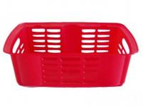 košík stohovatelný 31x19x11cm plastový - mix barev
