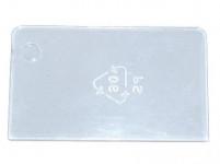 přepážka do šuplíků velká ND 6242 plastová (5ks)